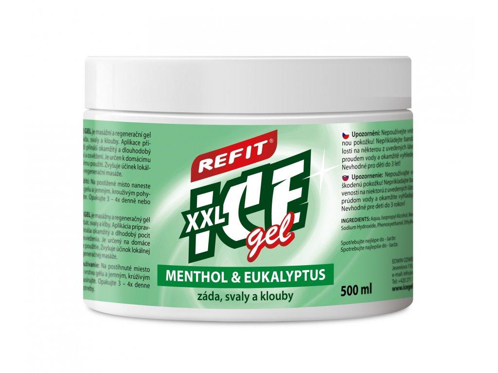 3D Refit ICE Gel Menthol Eukalyptus 2